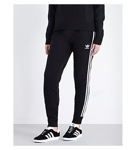 cheaper 6a522 868cf ADIDAS ORIGINALS Skinny brushed-wool jogging bottoms
