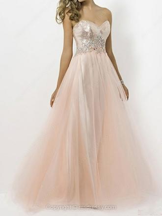 dress tulle dress sequin dress sequins prom dress off white off white dress