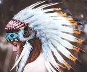 hat,azteca,maya,aztec hat,indian,cute,hispter,hardcore,beautiful,cool,amazing,vintage,grunge,hippie,peace,soft grunge,summer,party,indian hat,feathers,colorful hats
