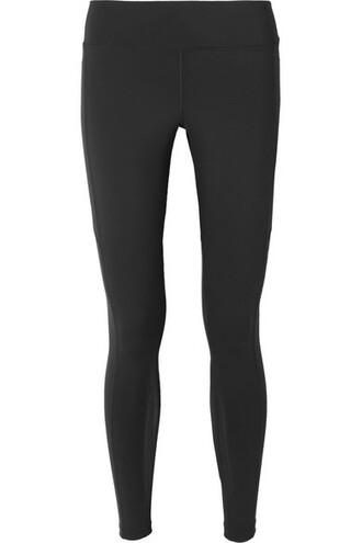 leggings mesh fit black pants