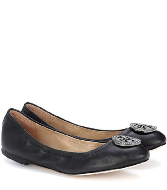 Tory Burch shoes leather black