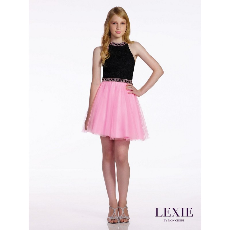 Lexie By Mon Cheri Tw11662 Dress Lexie By Mon Cheri Short A