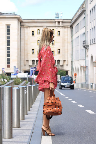 from brussels with love blogger romper shoes bag