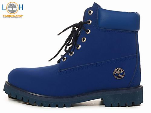 T3379and_Men Timberland 6 Inch Boots Deep Blue Australia