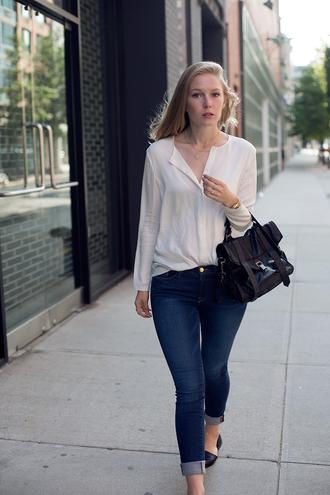 jeans shoes bag