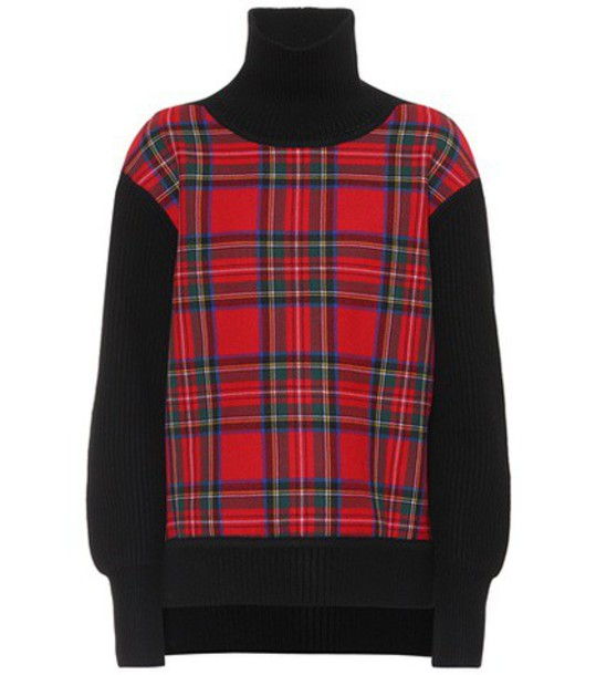 Burberry sweater wool black