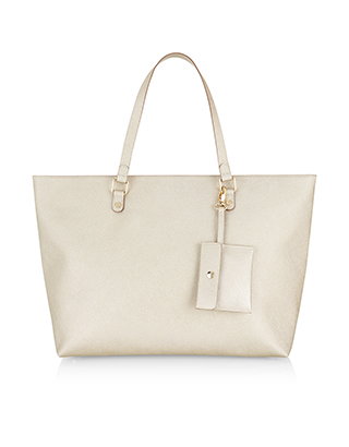 Isabella Winged Tote Bag | Gold | Accessorize