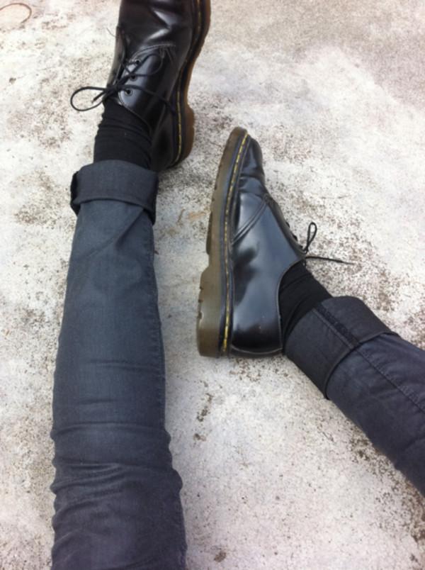 dr martens 1461 shoe black smooth doc martens boots and shoes. Black Bedroom Furniture Sets. Home Design Ideas