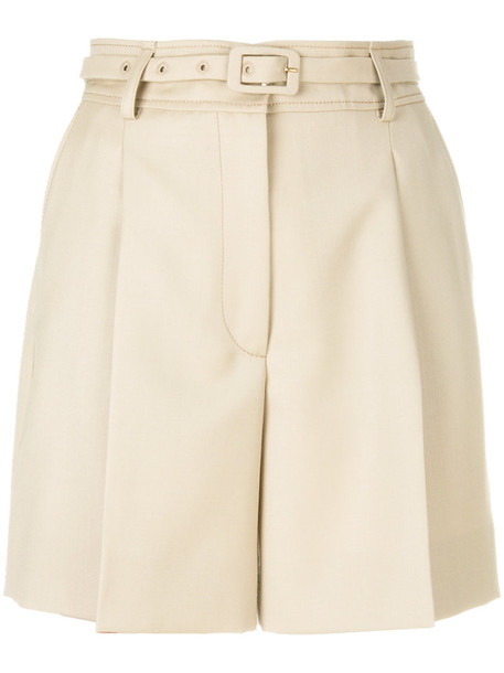 shorts women nude wool