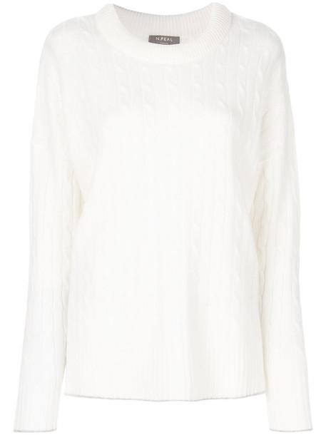 jumper women white sweater