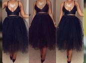 skirt,black,puffy skirt,maxi skirt