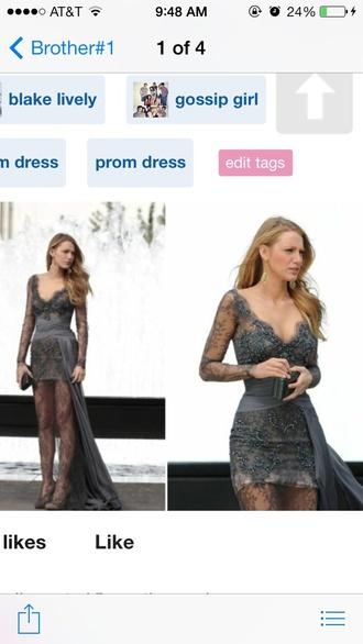 dress blake lively dress gossip girl dress lace dress