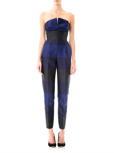 Valerie strapless stripe jumpsuit | Stella McCartney | MATCHES...