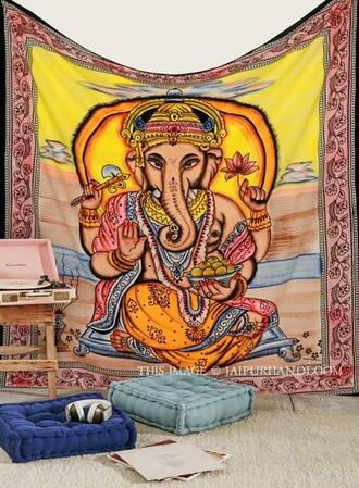 home accessory god ganesha wall hanging god ganesha tapestry indian lord ganesha tapestries hindu tapestries beach blanket queen cotton bedding indian beach throw indian bed cover queen blanket sofa cover couch throw bohemian tablecloth wall tapestry holiday gift cheap gifts birthday gift living room wall decor college decor