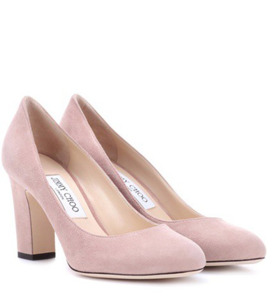 suede pumps pumps suede pink shoes