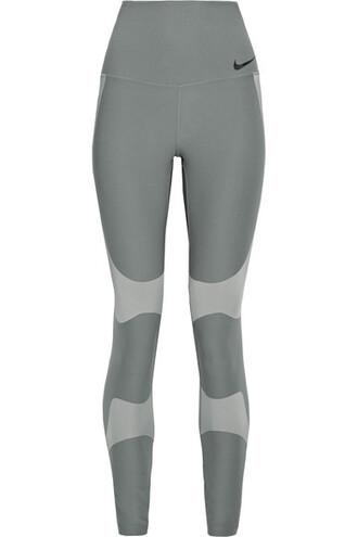 leggings mesh fit pants