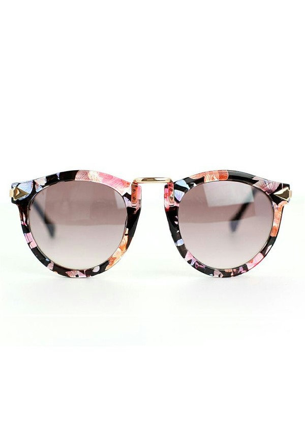 sunglasses floral metal black floral sunglasses floral design summer outfits