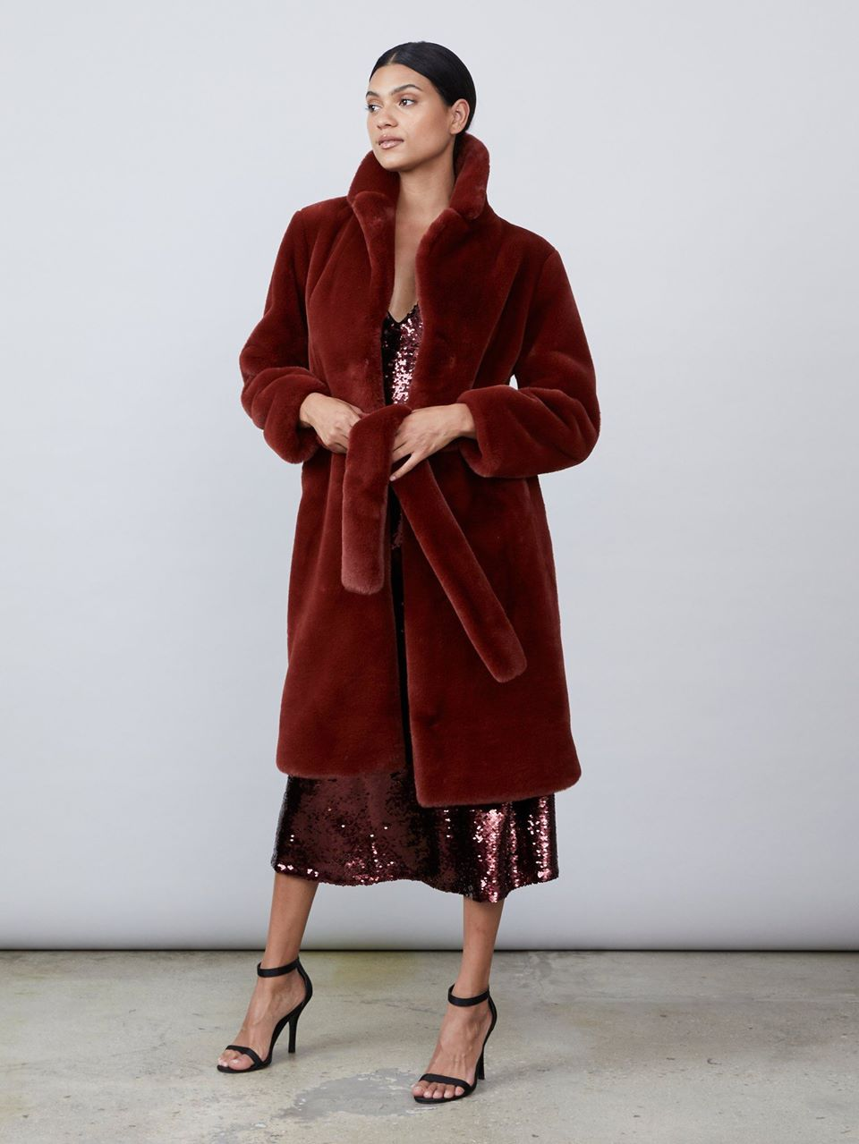 Greta Faux Fur Coat