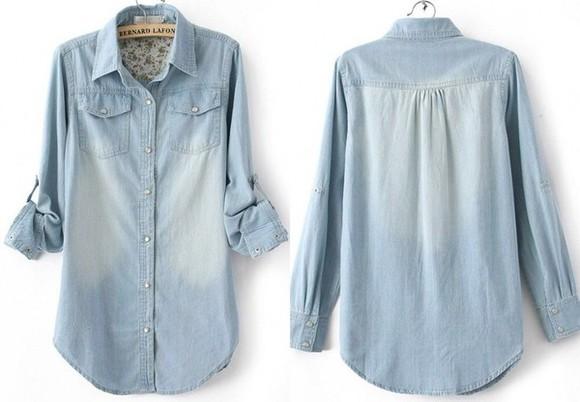 denim shirt denim long shirts