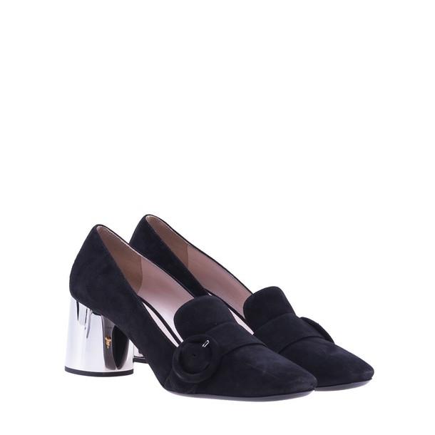 Prada silver black shoes