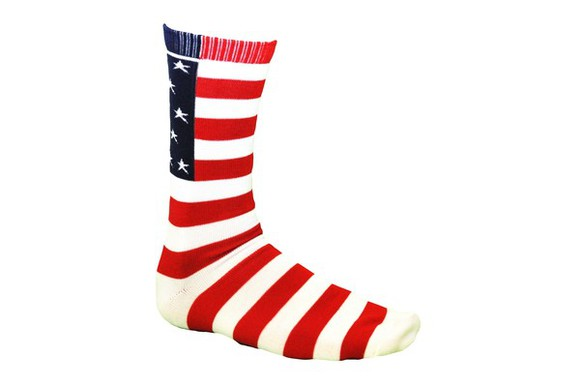 usa flag usa underwear laxworld crewsocks