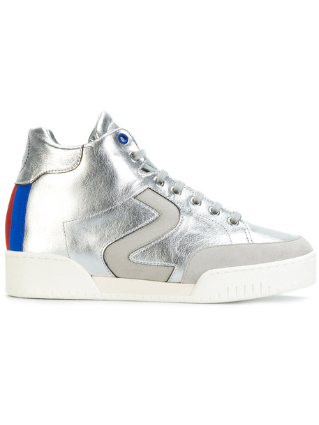 Stella McCartney women sneakers grey metallic shoes