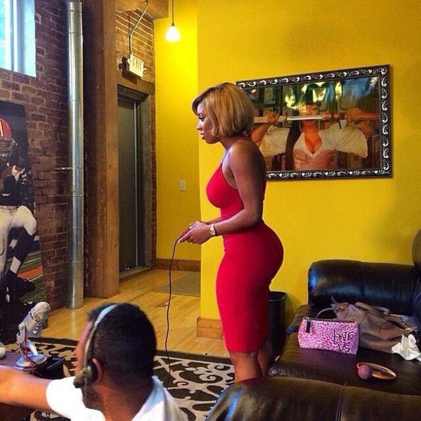 red dress dress sexy dress black girls killin it african american booty curvy sexy hot bodycon dress