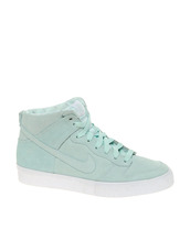 shoes,mint,teal,nikes,nike dunks,high top sneakers,women,hipster,leather shoes,black shoes,leather