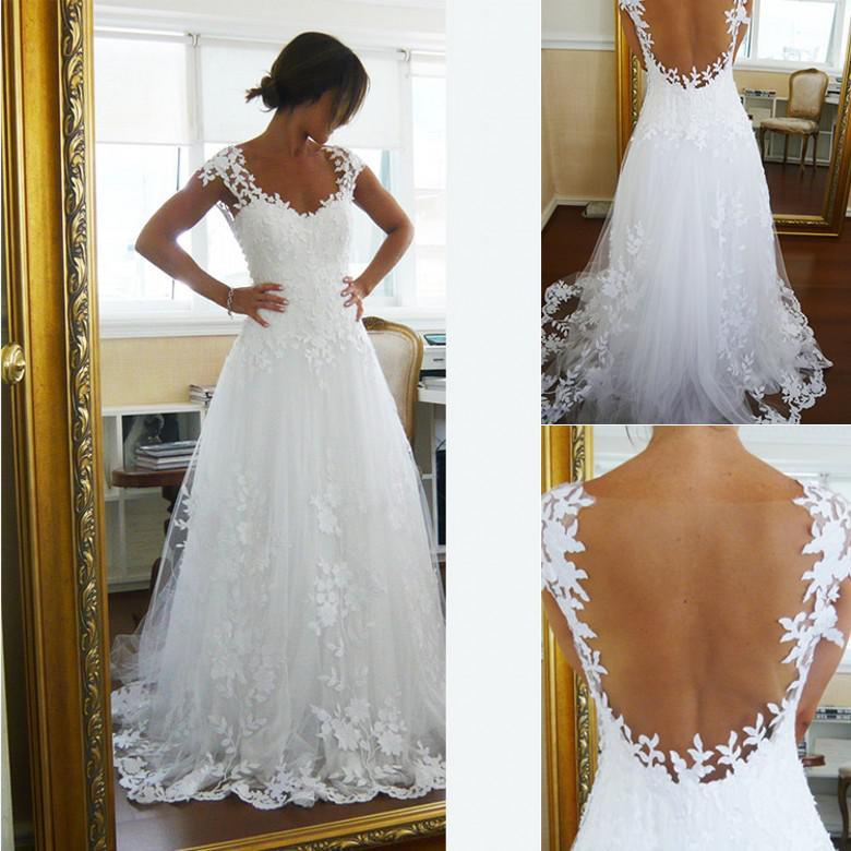 2015 wedding dress,lace wedding dress,vintage wedding dress sale at shopindress.com