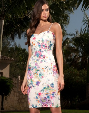 Lipsy Floral Pencil Dress - Lipsy