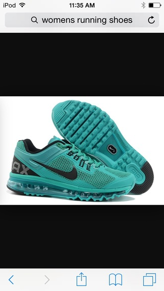 shoes teal nike running shoes nike shoes nike air max blue