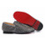 men s rollerboy spikes christian louboutin flats grey denim