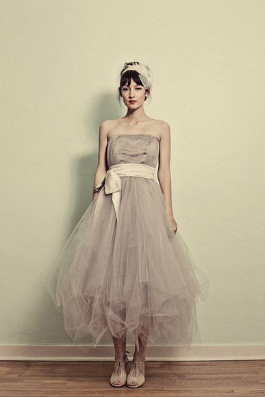 grey dress grey tulle wedding dresses tulle tulle dress etsy wedding dress prom dress prom vintage vintage dress