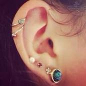 jewels,spiral earing,earrings,helix piercing,spiral,jewelry,piercing,ear piercings,cartilage,tragus,boho jewelry