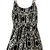 ROMWE | ROMWE Straps Geometric Patterns Print Black-white Playsuit, The Latest Street Fashion