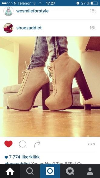 shoes pumps heels brown beige brown high heels
