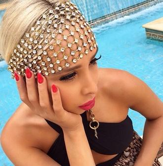 jewels head jewels head chain diamonds