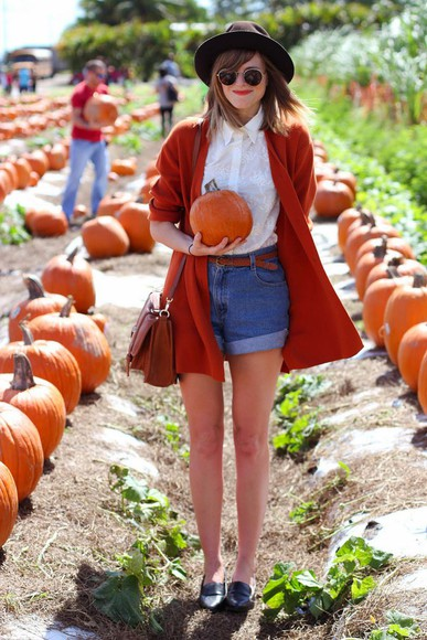 denim shorts cardigan blouse blogger steffy's pros and cons halloween