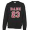 Babe 23 sweatshirt - teenamycs