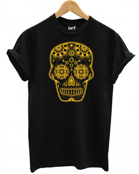 Candy large skull t shirt