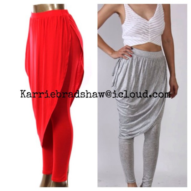 leggings harem pants asymmetrical dress trendy style sexy dress bottoms grey sweater grey sweatpants