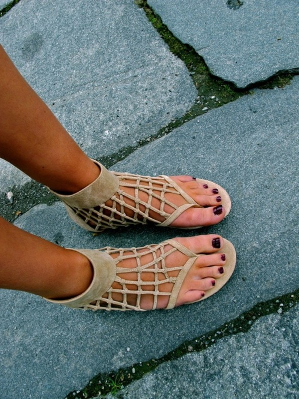 shoes sandals summer lovely strappy sandals