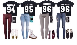 hood luke hemmings jersey 5 seconds of summer clifford 95 irwin shoes
