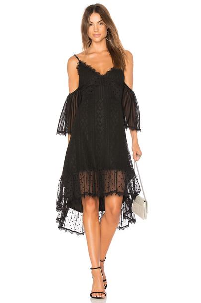 Minkpink dress dark black