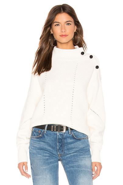 Joie Lusela Sweater in cream