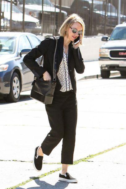 55c32c7eaa8ee9 bag chanel gabrielle hobo bag chanel chanel bag pants black pants blazer  black blazer shoes black