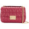Michael michael kors - sloan shoulder bag - women - leather - one size, red, leather