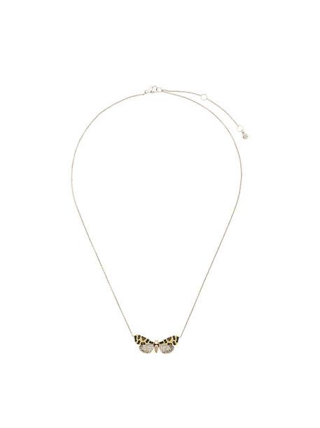 Astley Clarke women necklace gold grey metallic jewels