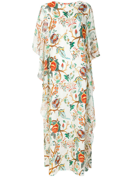 dress maxi dress maxi women floral nude silk