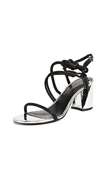 3.1 Phillip Lim sandals silver black shoes
